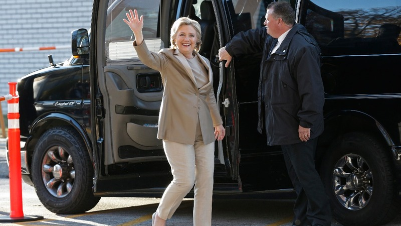 INSIGHT: Hillary Clinton casts her vote
