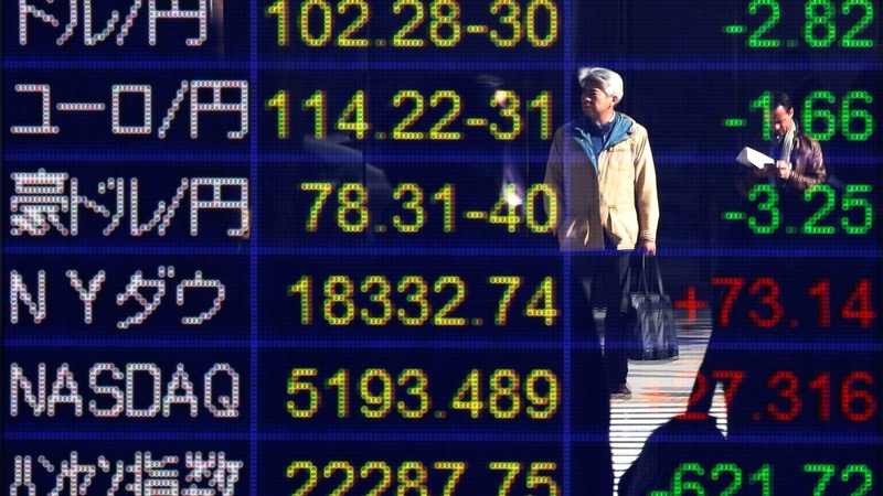 Markets tumble as election swings toward Trump