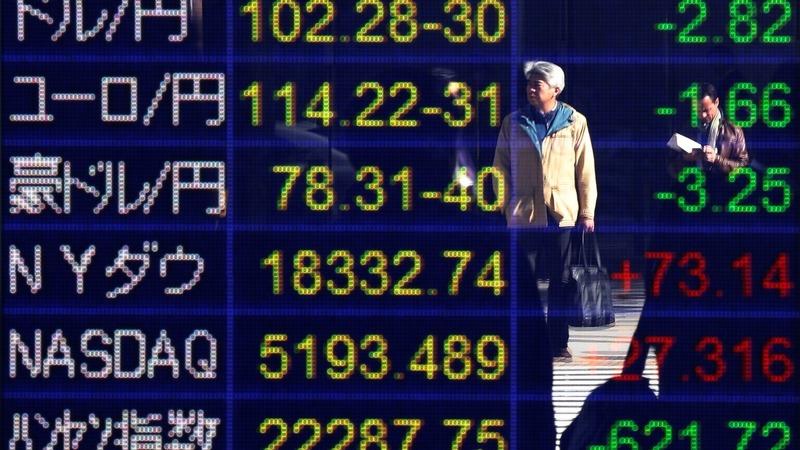 Markets tumble as election swings toward Trump