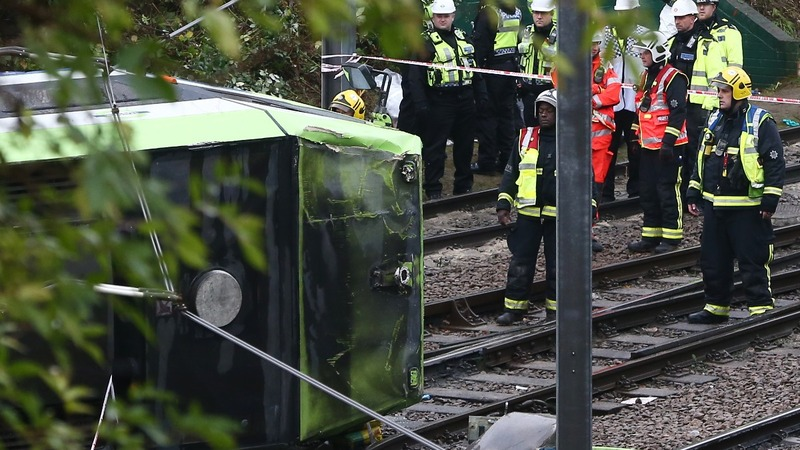 Several dead in London tram crash