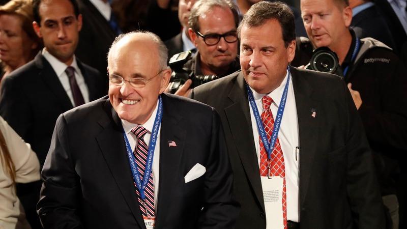 Christie, Giuliani possible Trump's cabinet picks