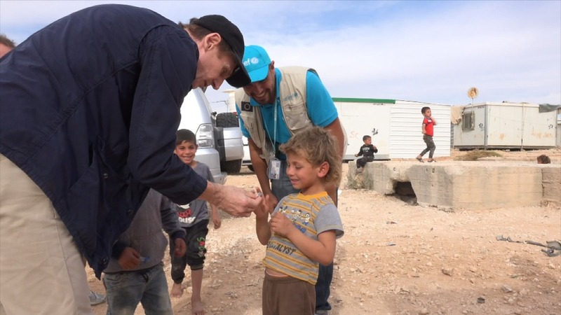 INSIGHT: Neeson visits Syrian refugees in Jordan