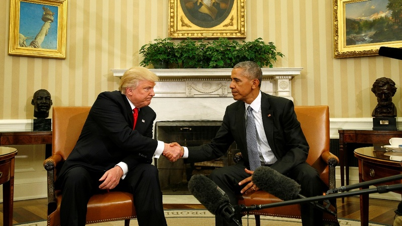 VERBATIM: Obama, Trump meet at White House