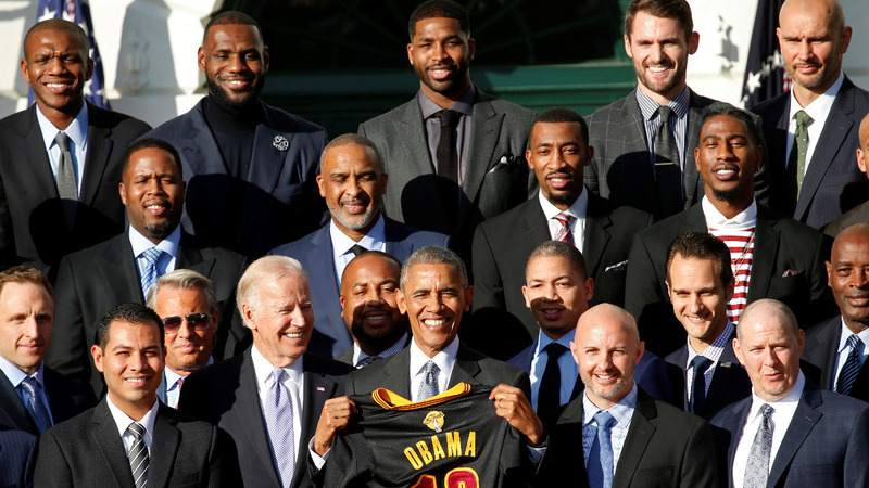 INSIGHT: Cleveland Cavaliers visit White House