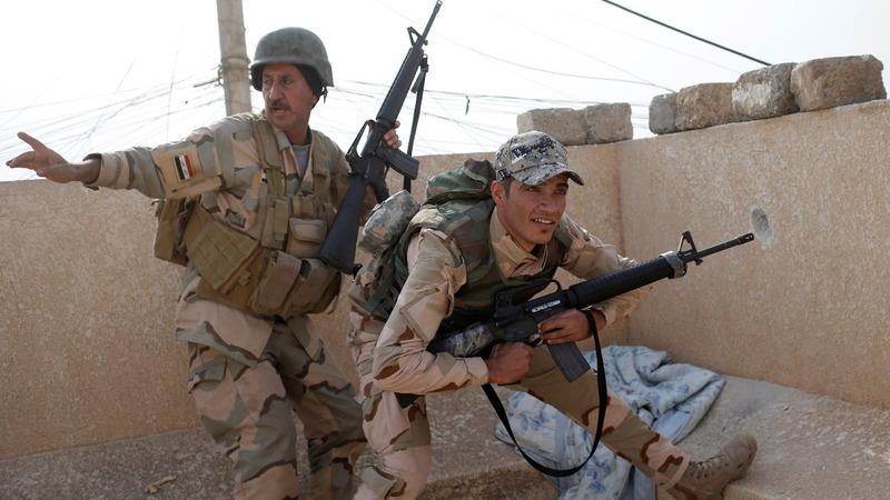 Iraqi troops tell of Mosul 'nightmare'