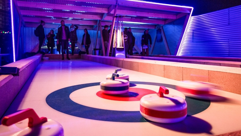 Could curling score your next night out?