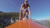 INSIGHT: Clowns go 'surfing' 600m above ground