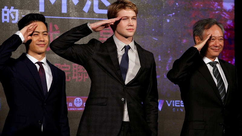 Ang Lee showcases new movie tech in panned film