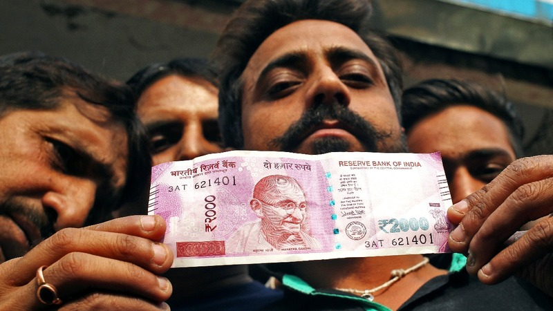 Anger mounts in India after currency swap shock