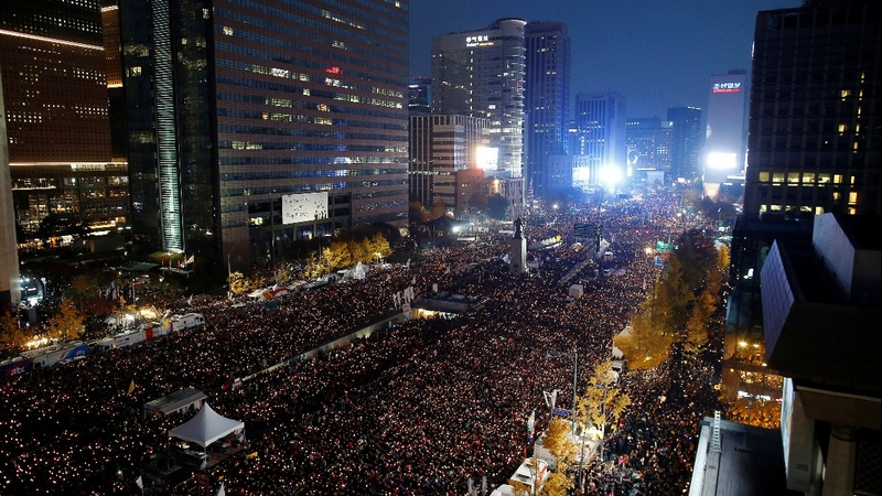 INSIGHT-S. korea protesters call on Park to quit