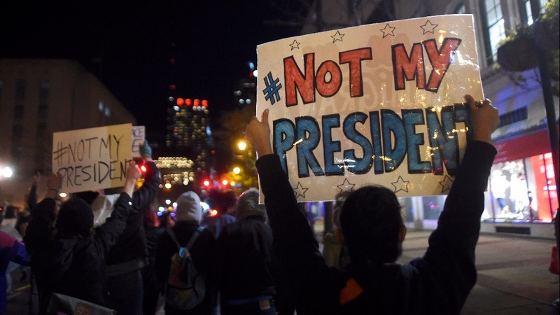 NYC kicks off weekend anti-Trump demonstrations