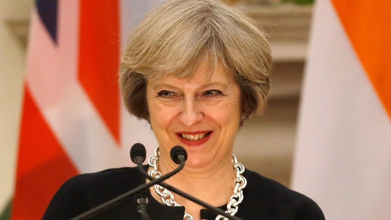 May to make UK 'free trade champions'