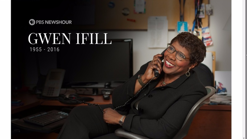 Award-winning TV news host Gwen Ifill dead at 61