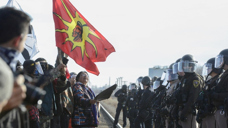 Dakota Access pipeline protests erupt nationwide