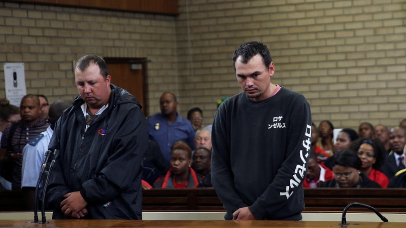 Two arrests in shocking South Africa attack
