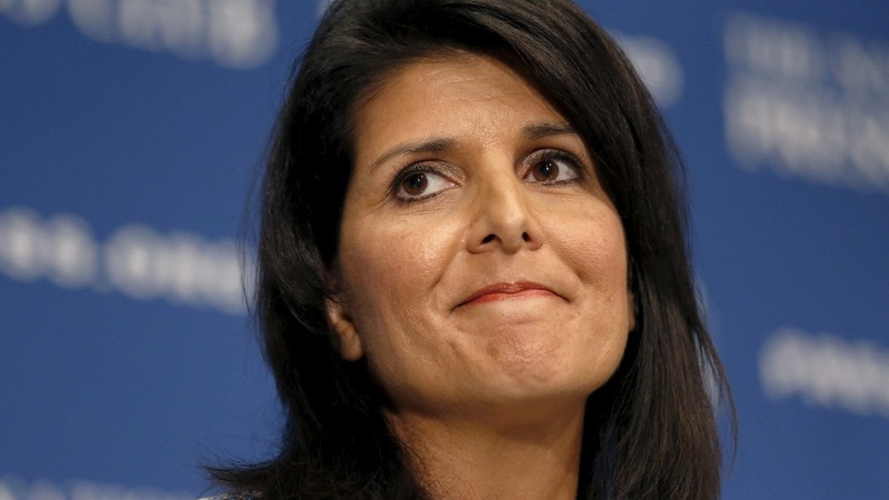 Haley reportedly eyed for secretary of state gig