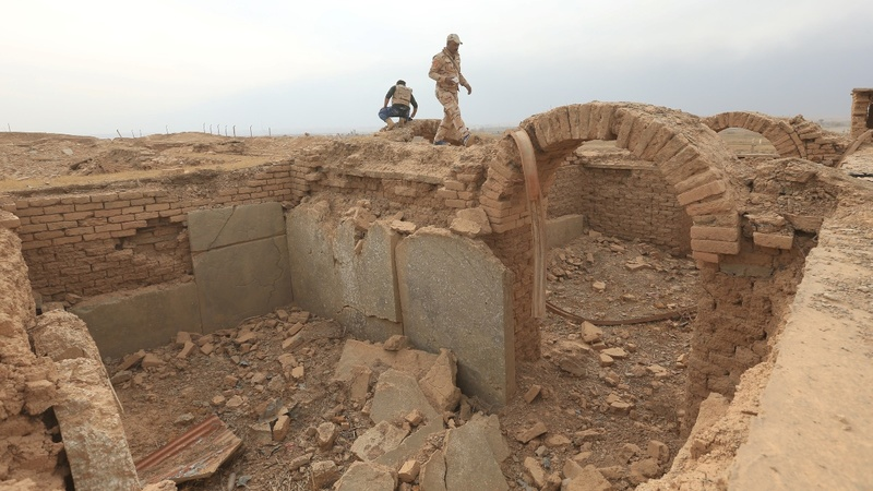 Iraq's Nimrud reduced to dust by I.S. rampage