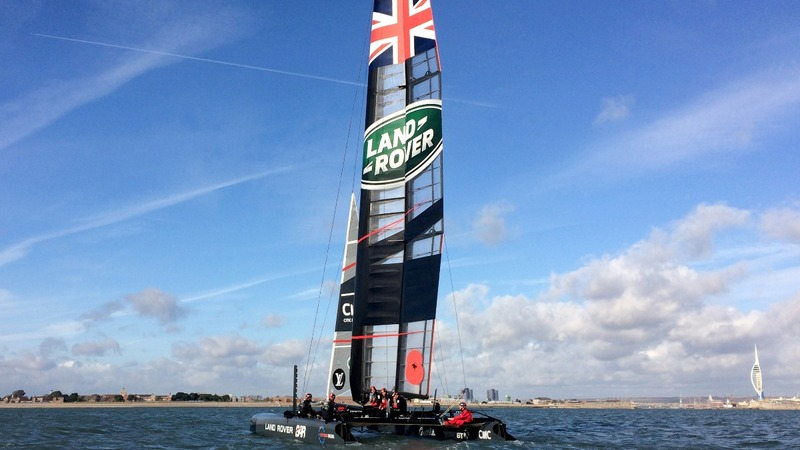 Ainslie's 'gut buster' in America's Cup quest