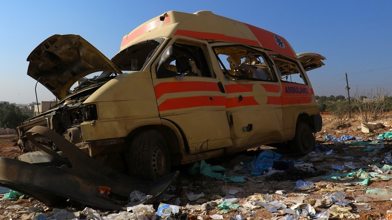 All hospitals in eastern Aleppo 'out of service'