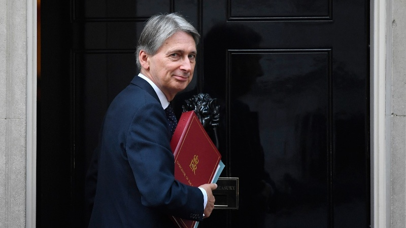 VERBATIM: A hint at Hammond's UK budget plans