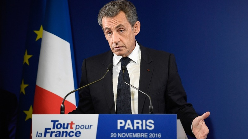 Sarkozy knocked out of French primary