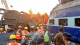 India wraps up search for train crash victims