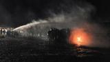 Water cannons, fires, tear gas in latest Dakota Pipeline clash