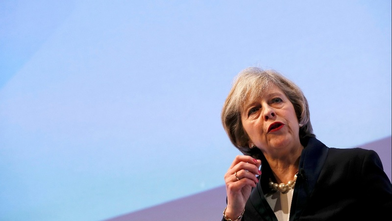 May tackles 'cliff-edge' Brexit fears