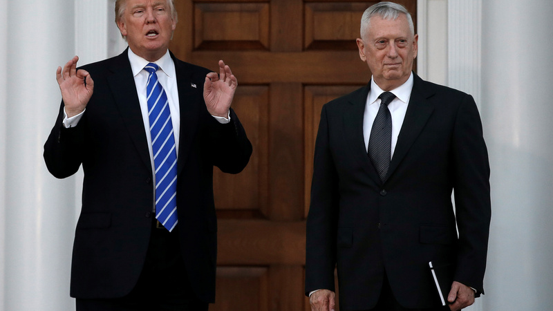 Retired Gen. 'Mad Dog' Mattis eyed for Pentagon