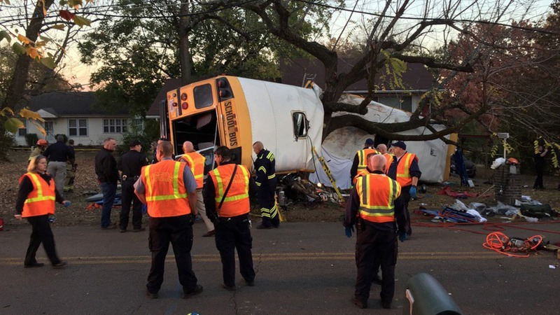 Bus driver charged in Tennessee crash that killed 6 children