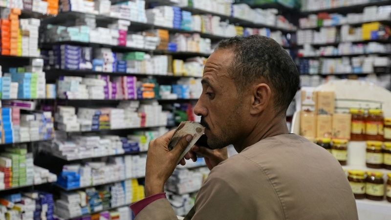 Medicines running out after Egypt pound float