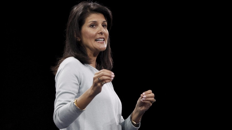 Nikki Haley picked for U.N. ambassador