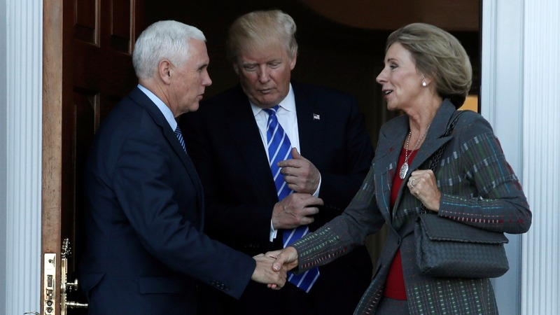 Trump taps DeVos for Ed post; Haley gets UN