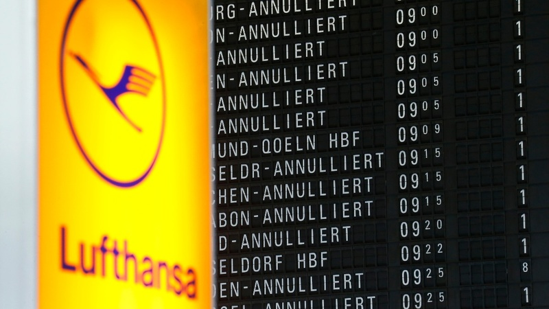 Flights cancelled as Lufthansa pilots strike