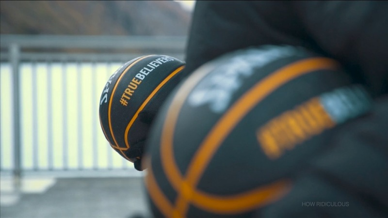 INSIGHT: YouTubers sink record basketball shot