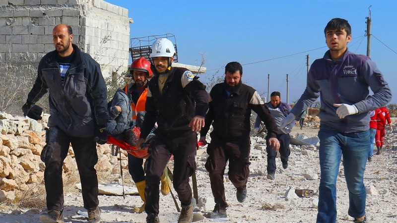 Starvation imminent in Syria's Aleppo - White Helmets