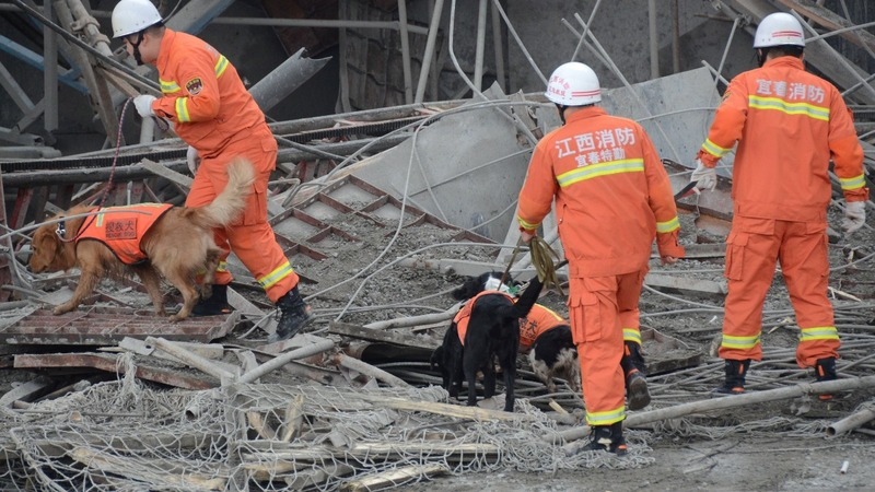 China construction site accident kills 67