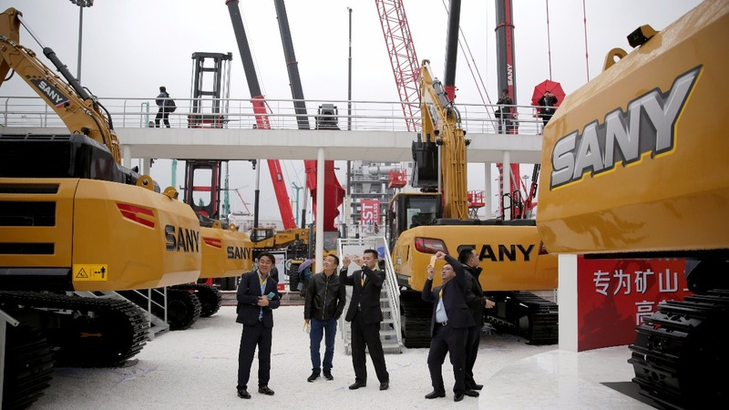 Big machines, small signs of recovery in China