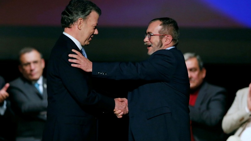 Peace deal signed in Colombia