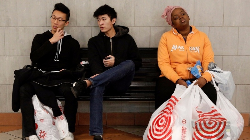 Malls quiet as Black Friday crowds shop at home