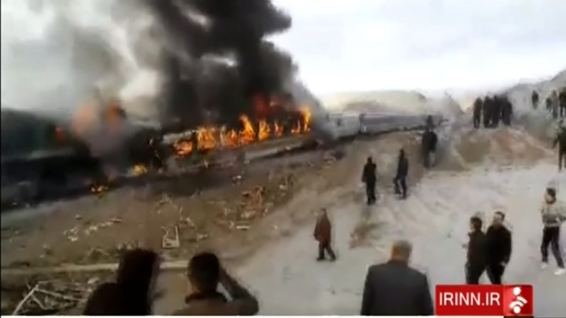 At least 44 killed in Iran train collision