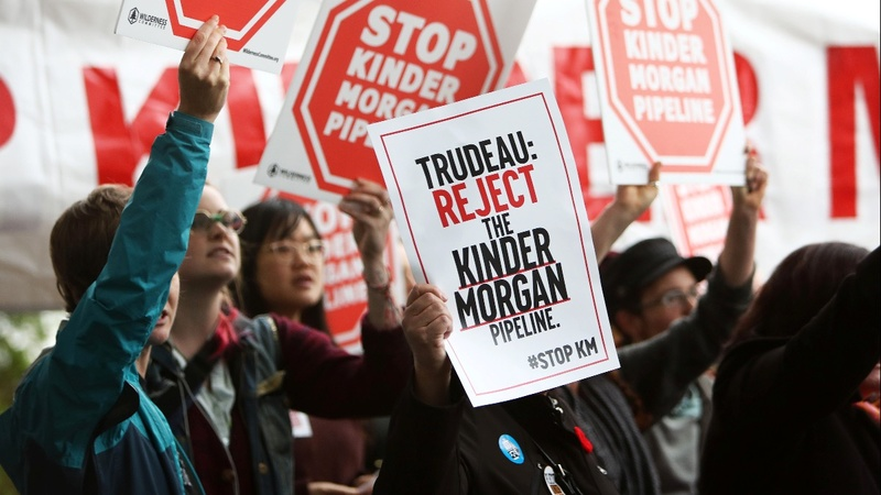 Proposed Canadian pipeline may trigger mass protests
