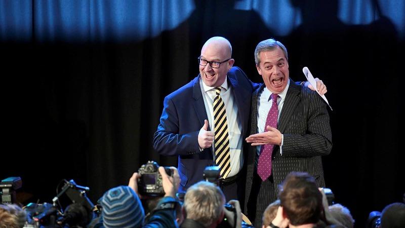 Paul Nuttall elected new UKIP leader