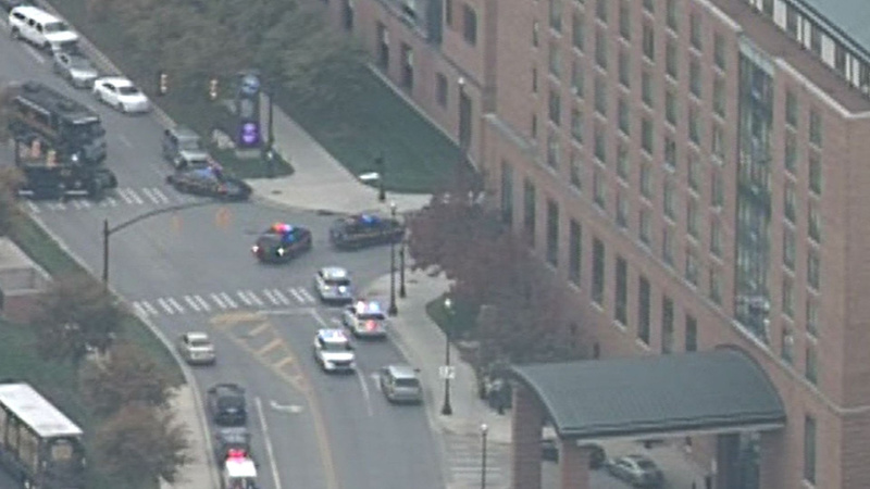 An active shooter at large at Ohio State University