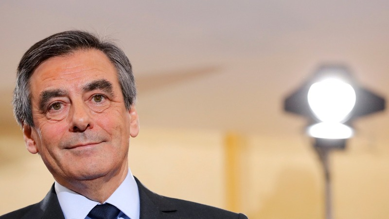 Face off for two French presidential hopefuls
