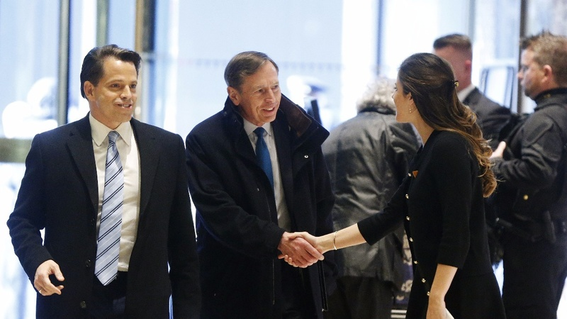 Petraeus joins hunt for top State Dept. job
