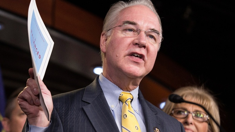 Tom Price, Obamacare critic, is Trump's pick for Health Secretary