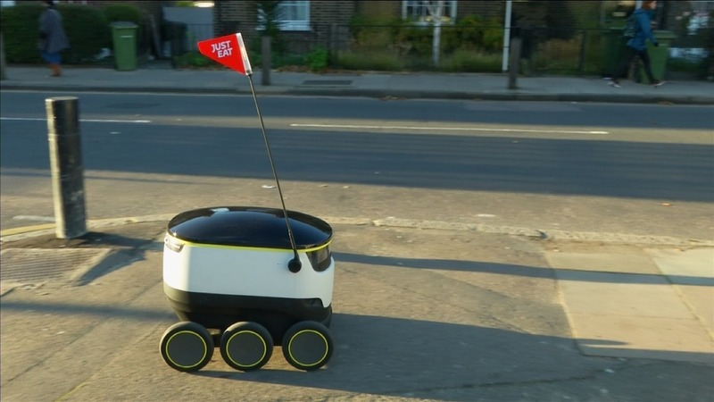 Robotic delivery: coming to a street near you