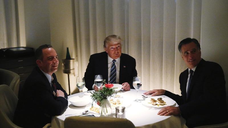 Romney tapped for dinner, Ross tapped for Cabinet