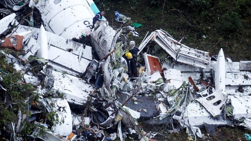Colombia plane crash investigation begins